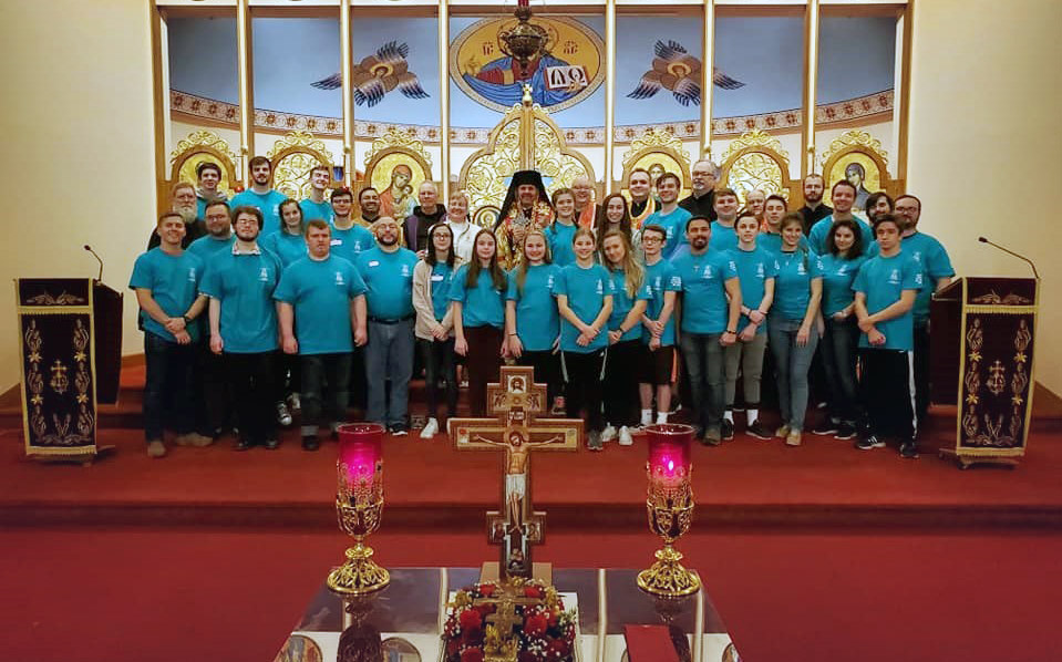 Eparchy of St. Josaphat in Parma Held a Lenten Lock-In Retreat for its Youth