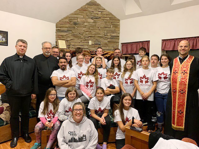 The Eparchy of St. Josaphat in Parma Held Its Annual Fall Youth Retreat