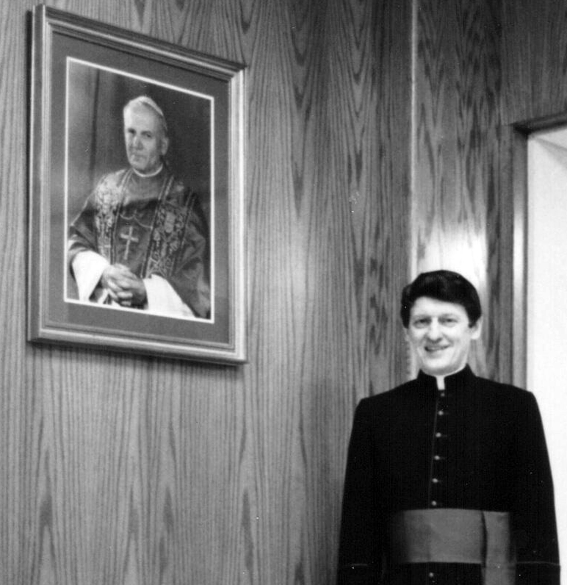 +Msgr. John Squiller passeed into Eternity