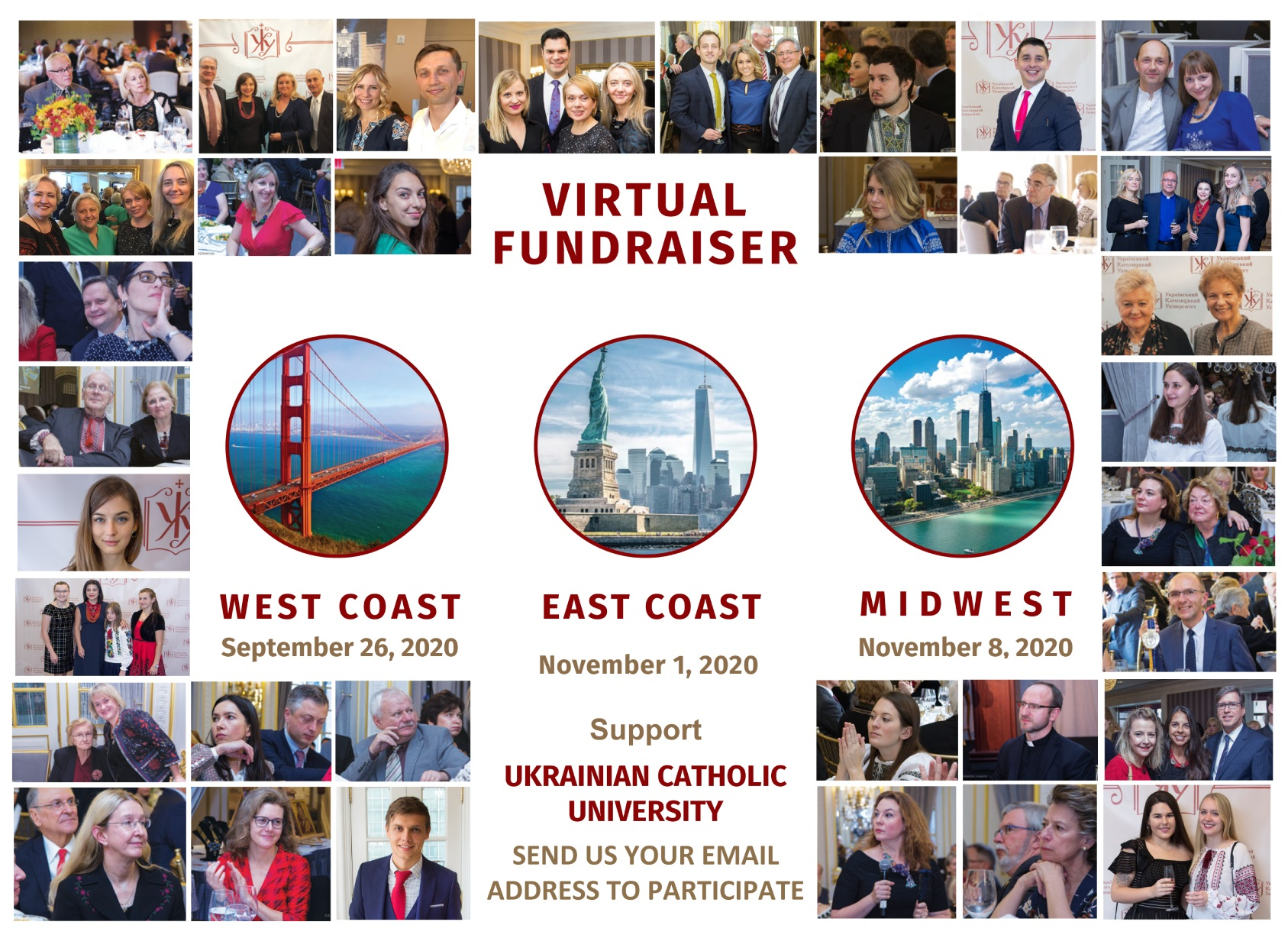 Ukrainian Catholic University  – Virtual Fundraiser