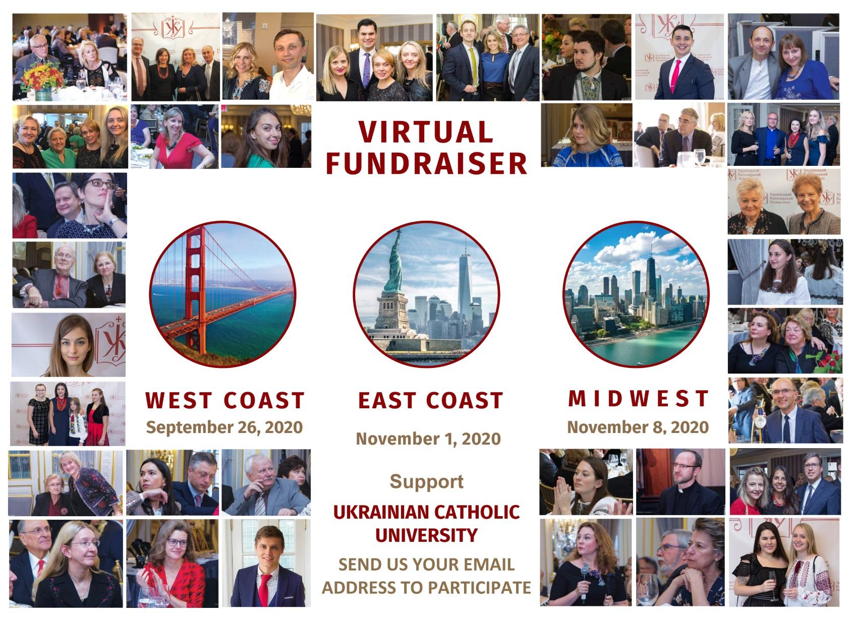 Ukrainian Catholic University  – Virtual Fundraiser