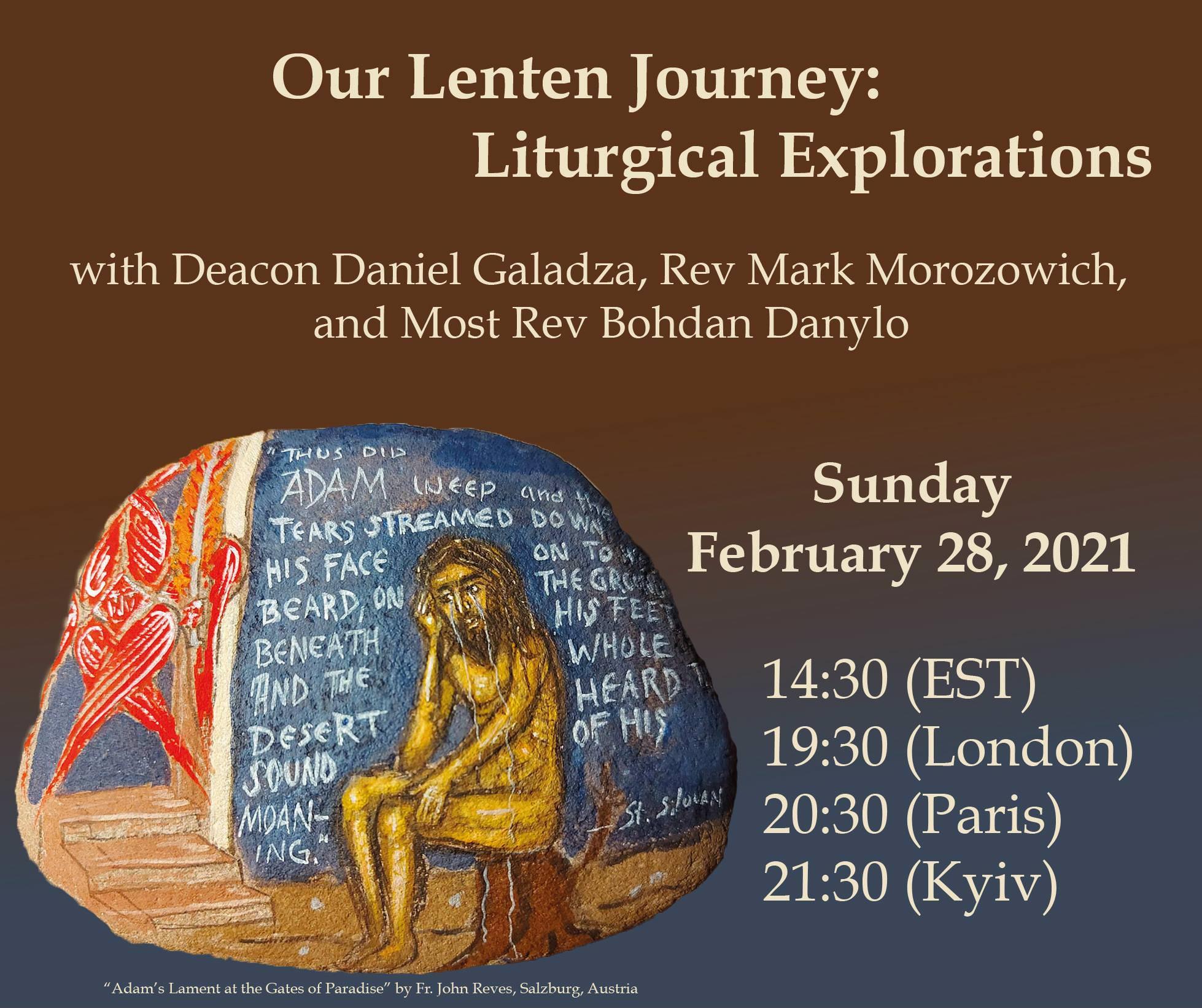 Our Lenten Journey – Liturgical Explorations