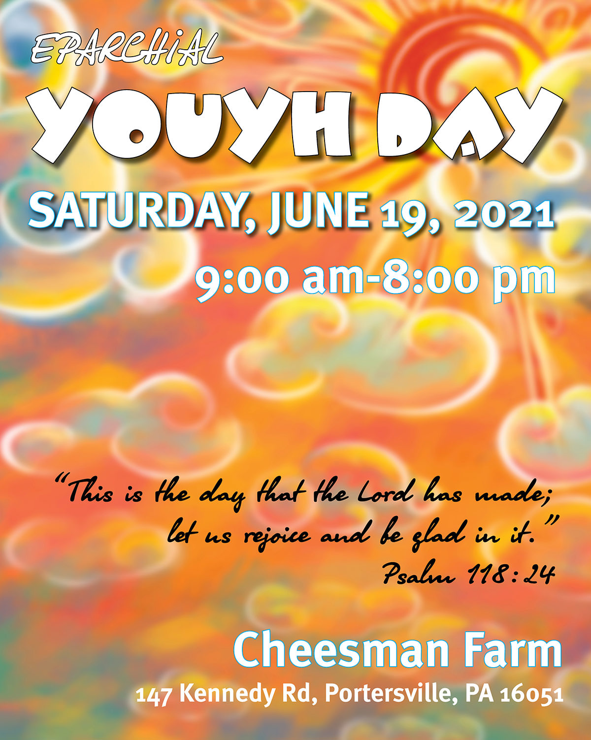 Eparchial Youth Day – June 19, 2021