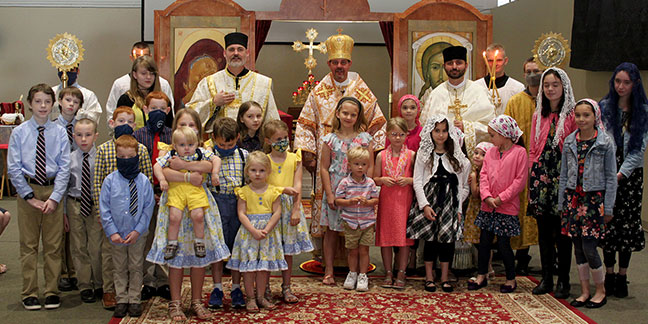 Ukrainian bishop makes pastoral visit to Charlotte