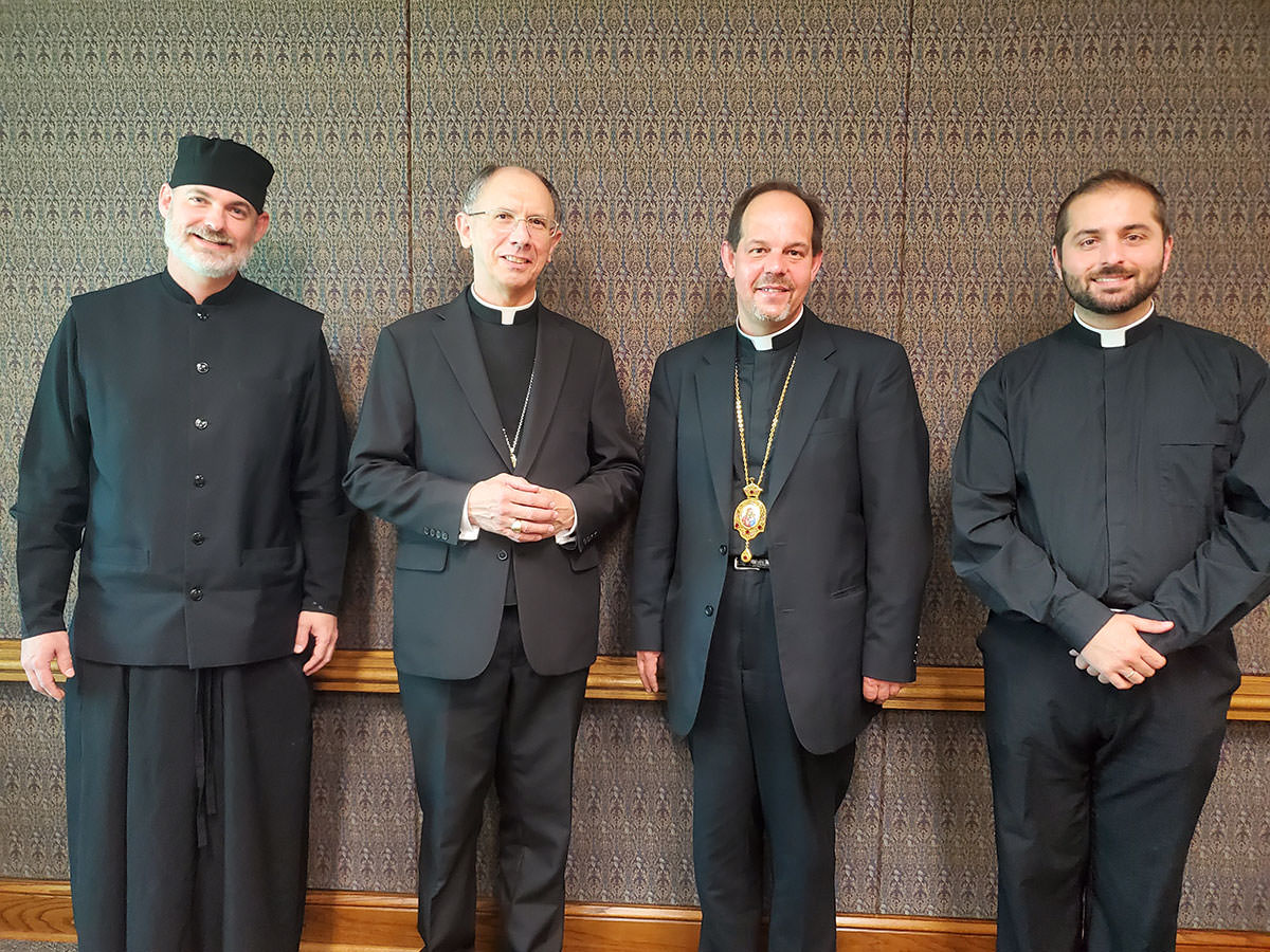 Bishop Danylo met with Bishop Peter Jugis of Charlotte, NC