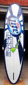 Miller Lite paddle board