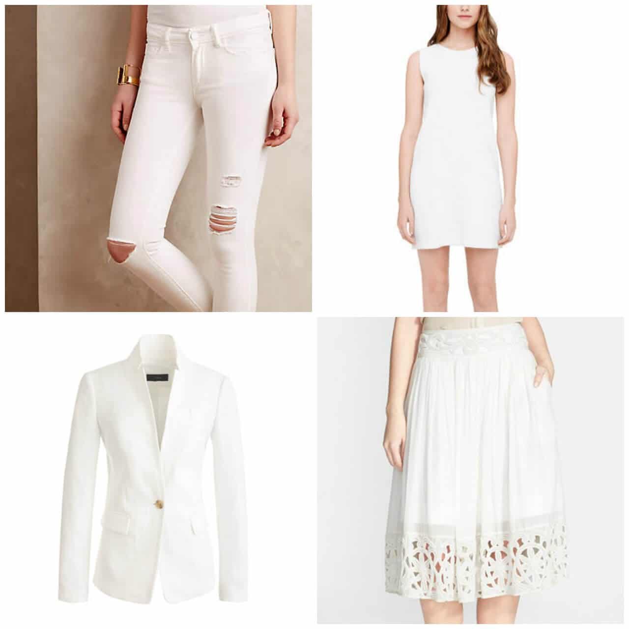 White Labor Day Sales Styling Suggestions