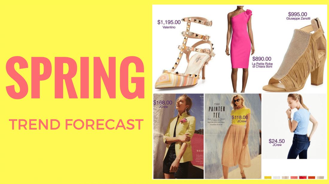 Spring 2016 Trend Forecast
