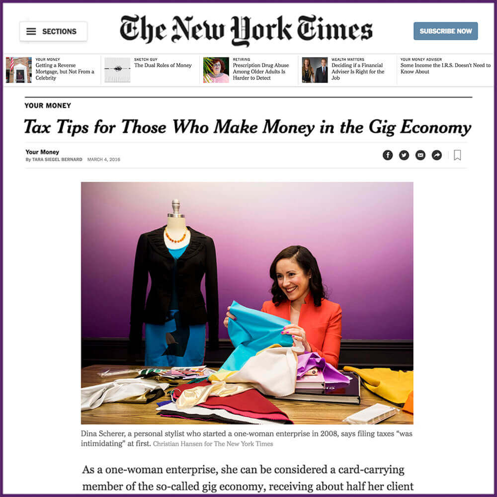New York Times Business Section Profile March 04 2016