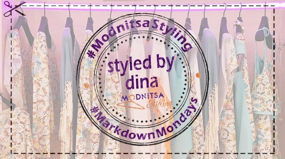 Markdown Mondays Blog Post Shopping Cuts
