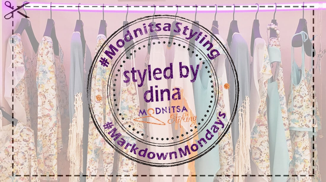 Markdown Mondays Blog Post Shopping Cuts