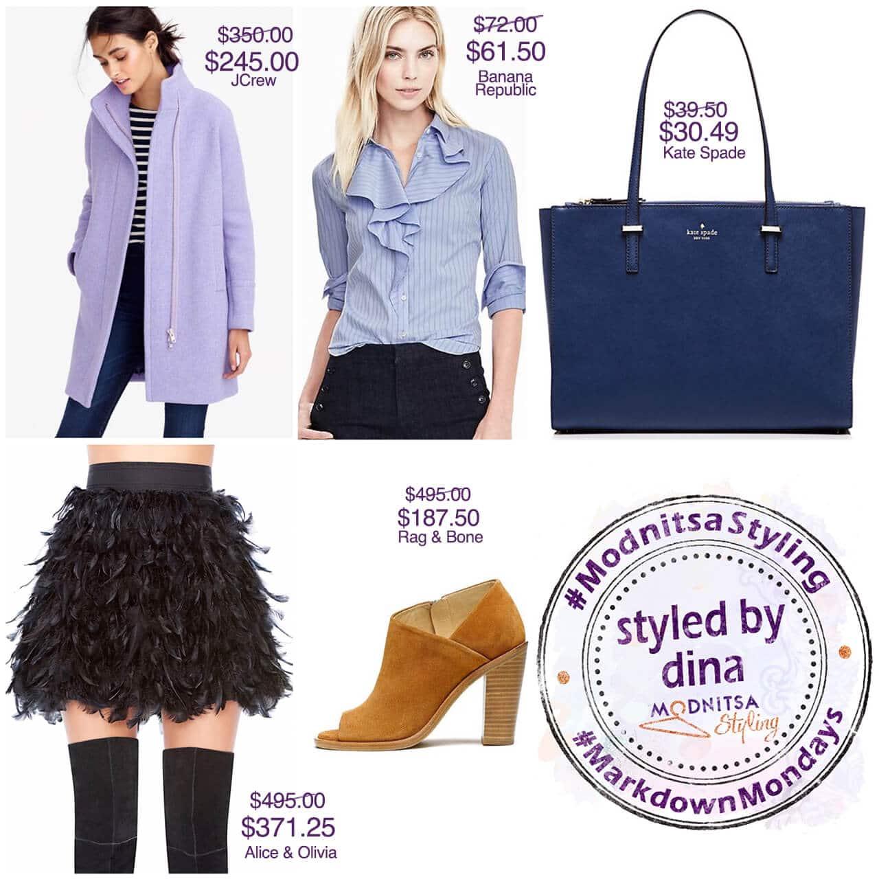 columbus day shopping sales markdown mondays collage 101016