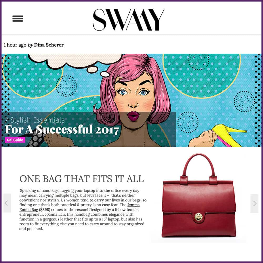 Swaay Media Gal Guide 7 Stylish Essentials For A Successful 2017 December 2016