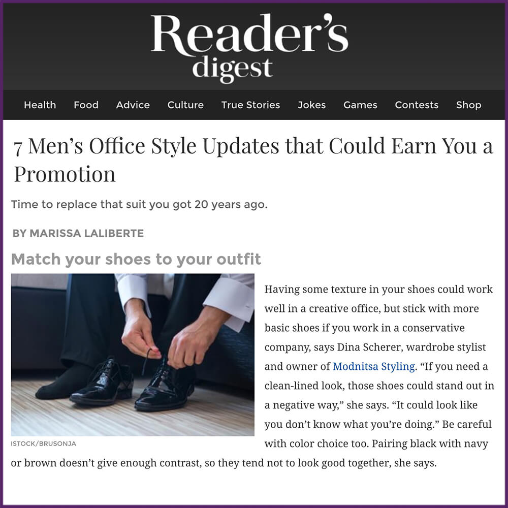 Readers Digest 7 Men's Office Style Updates that Could Earn You a Promotion Article January 27 2017