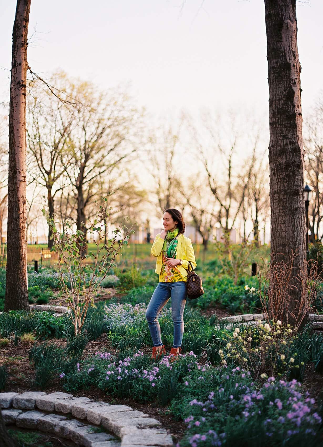 Yellow Power for Spring Modnitsa Styling Blog Post