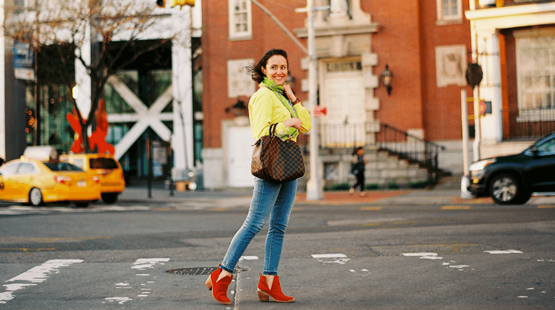 Yellow Power for Spring and Summer Blog Post by Modnitsa Styling