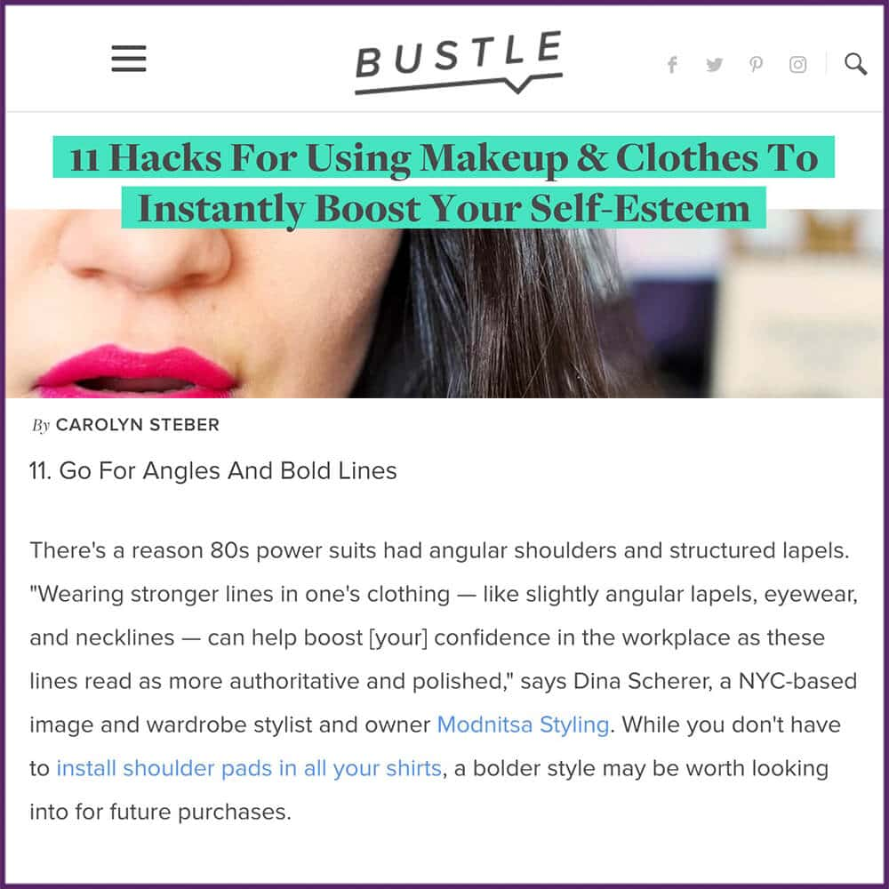 11 Hacks For Using Makeup and Clothes To Instantly Boost Your Self Esteem Article June 22 2017