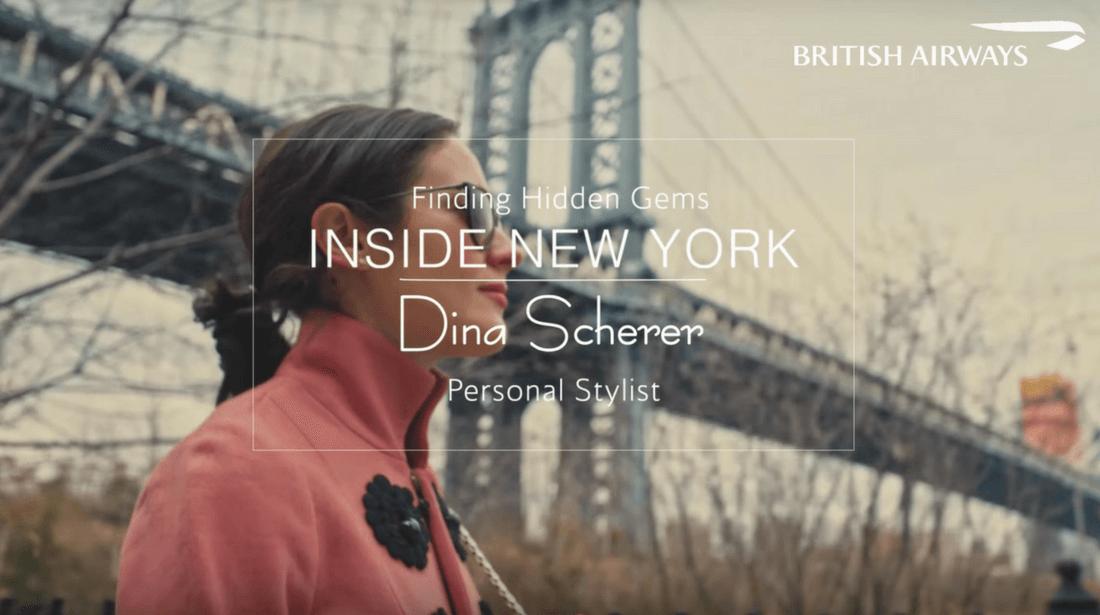 British Airways Dina Scherer Modnitsa Styling British Airways Film