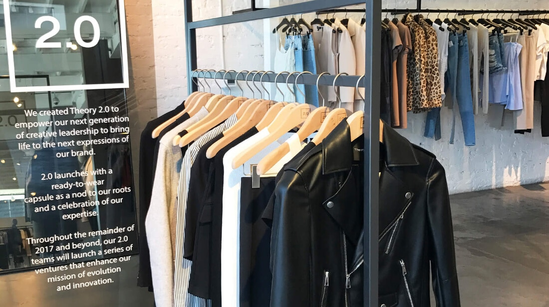 Theory 2.0 Capsule Collection Preview at Melrose Boutique