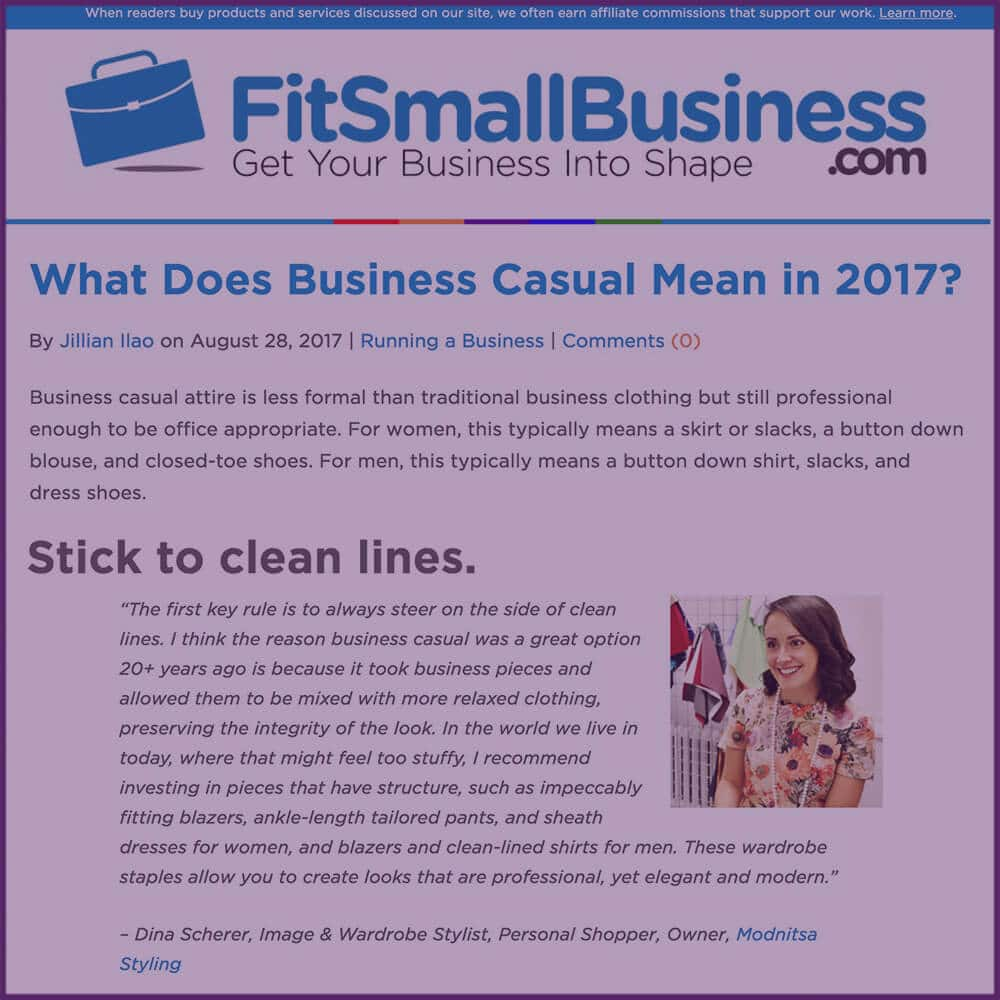 Fits Small Business What Does Business Casual Mean In 2017 Article August 28 2017
