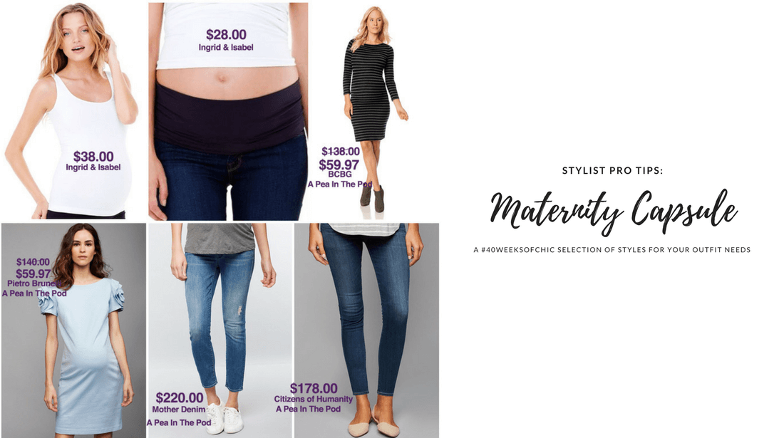 Maternity Style Capsule 2nd Trimester Update