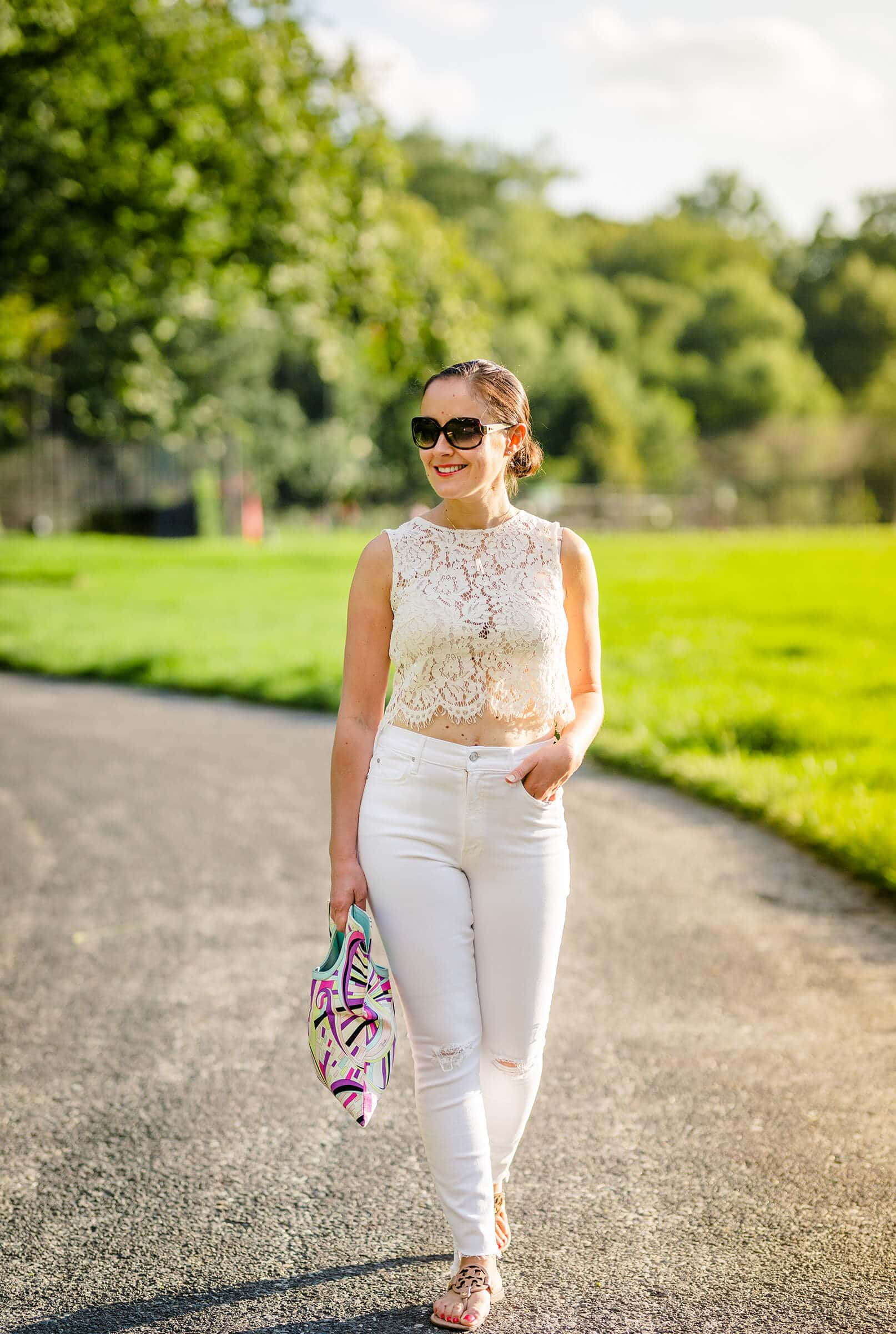 All White Outfit Blog Post