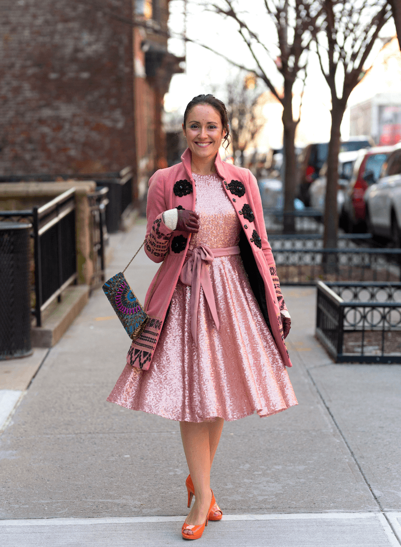 GMG Beatrix Dress Elimovna Coat Vince Camuto Shoes