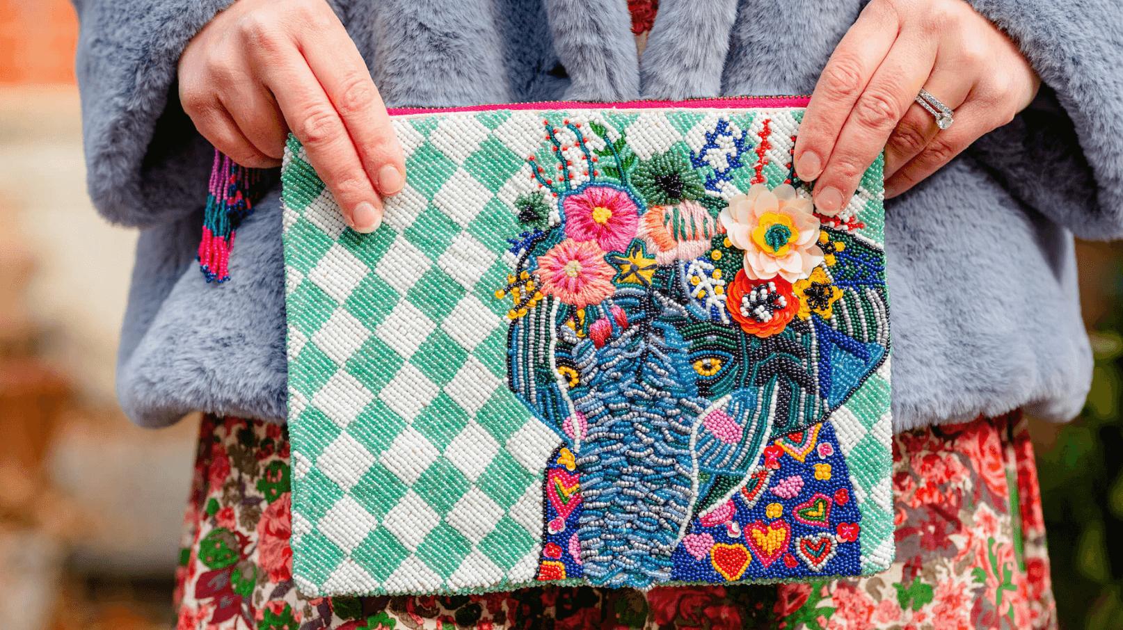 Sezane Floral Maxi Aquatalia Booties Elephant Clutch Free People Faux Fur Coat Look by Modnitsa Styling