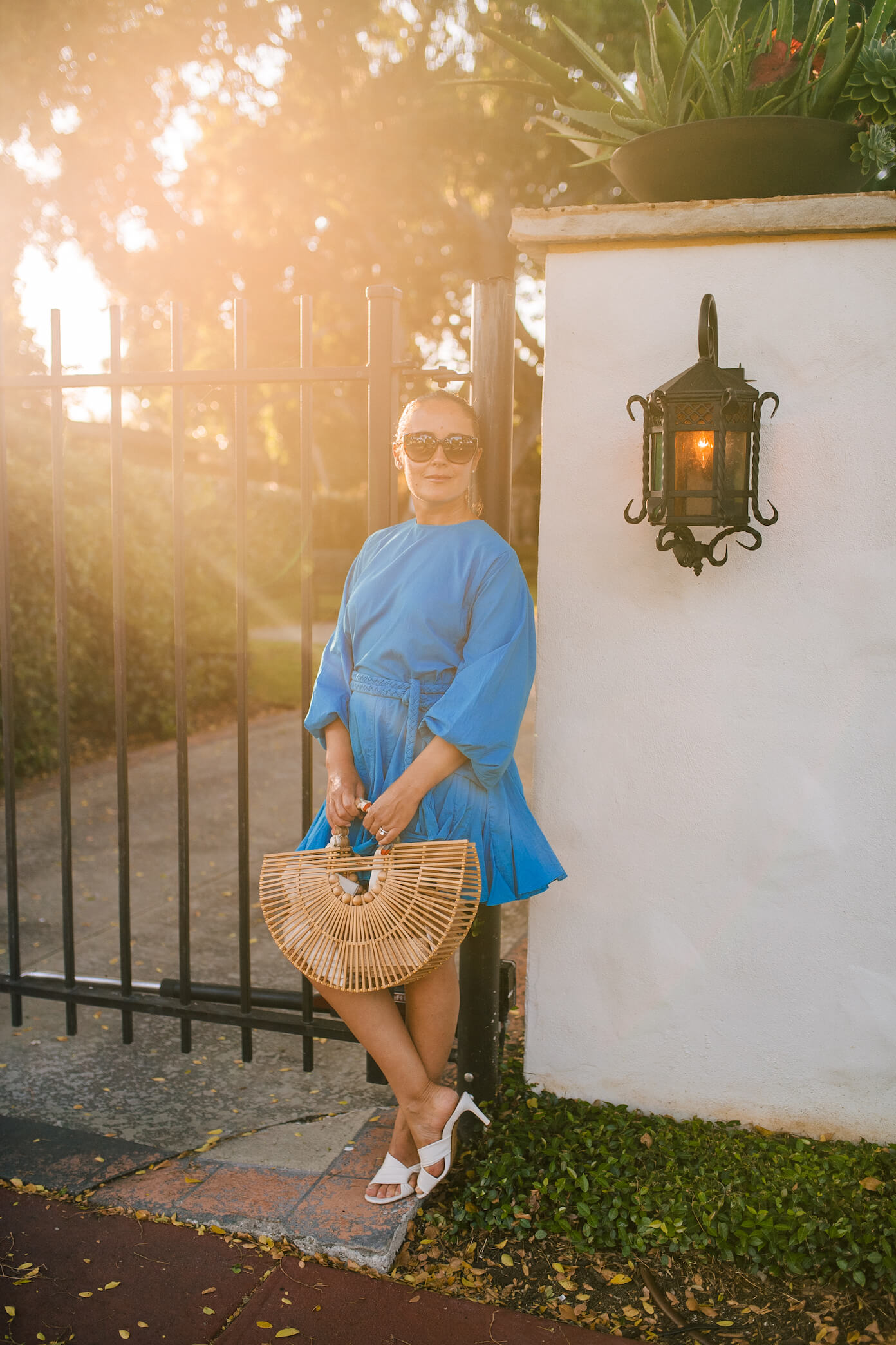 Rhode Dress Inez Shoes Cult Gaia Bag Outfit by Modnitsa Styling_10