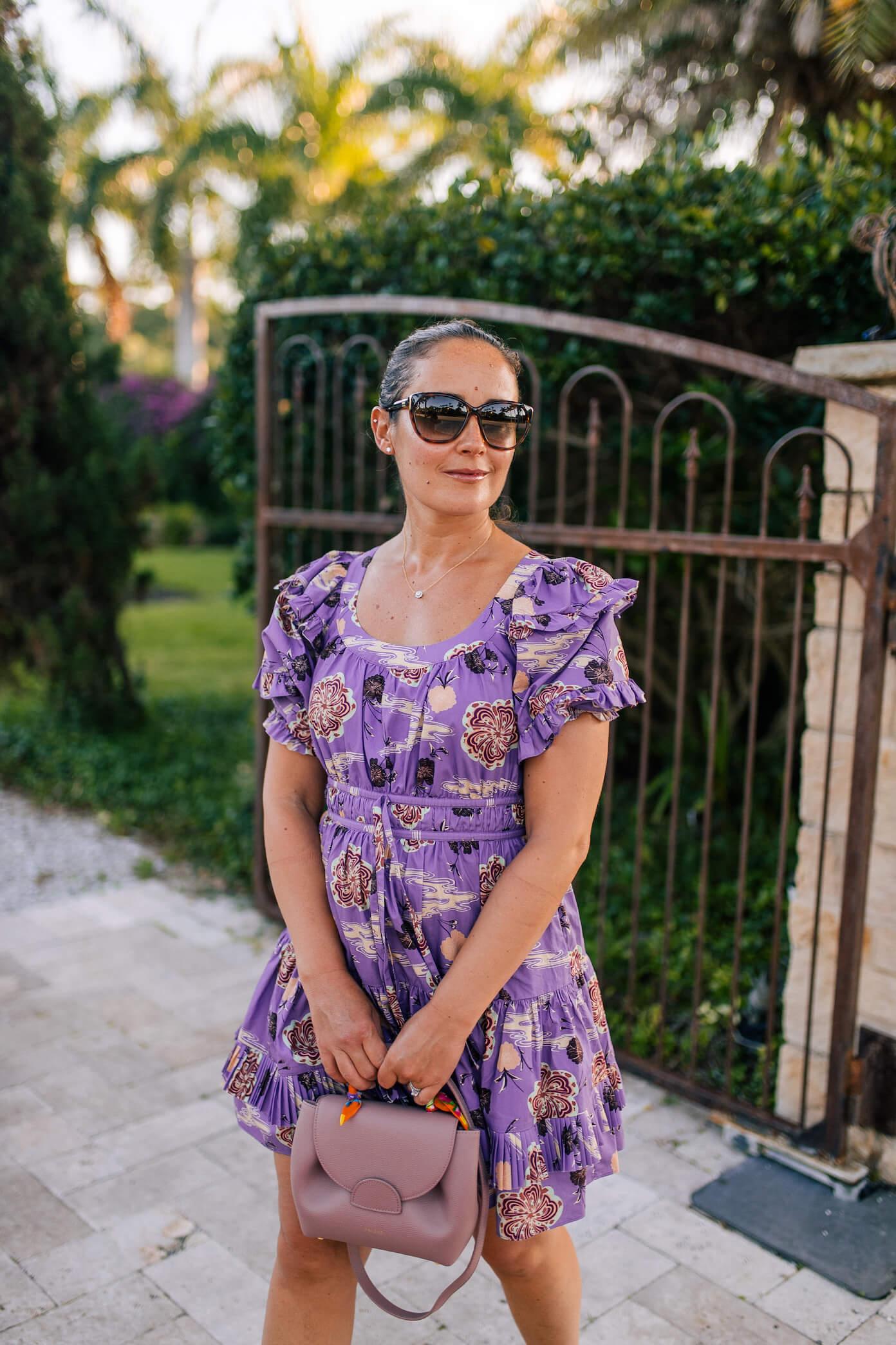 Ulla Johnson Dress Polene Bag Vionic Shoes Outfit by Modnitsa Styling