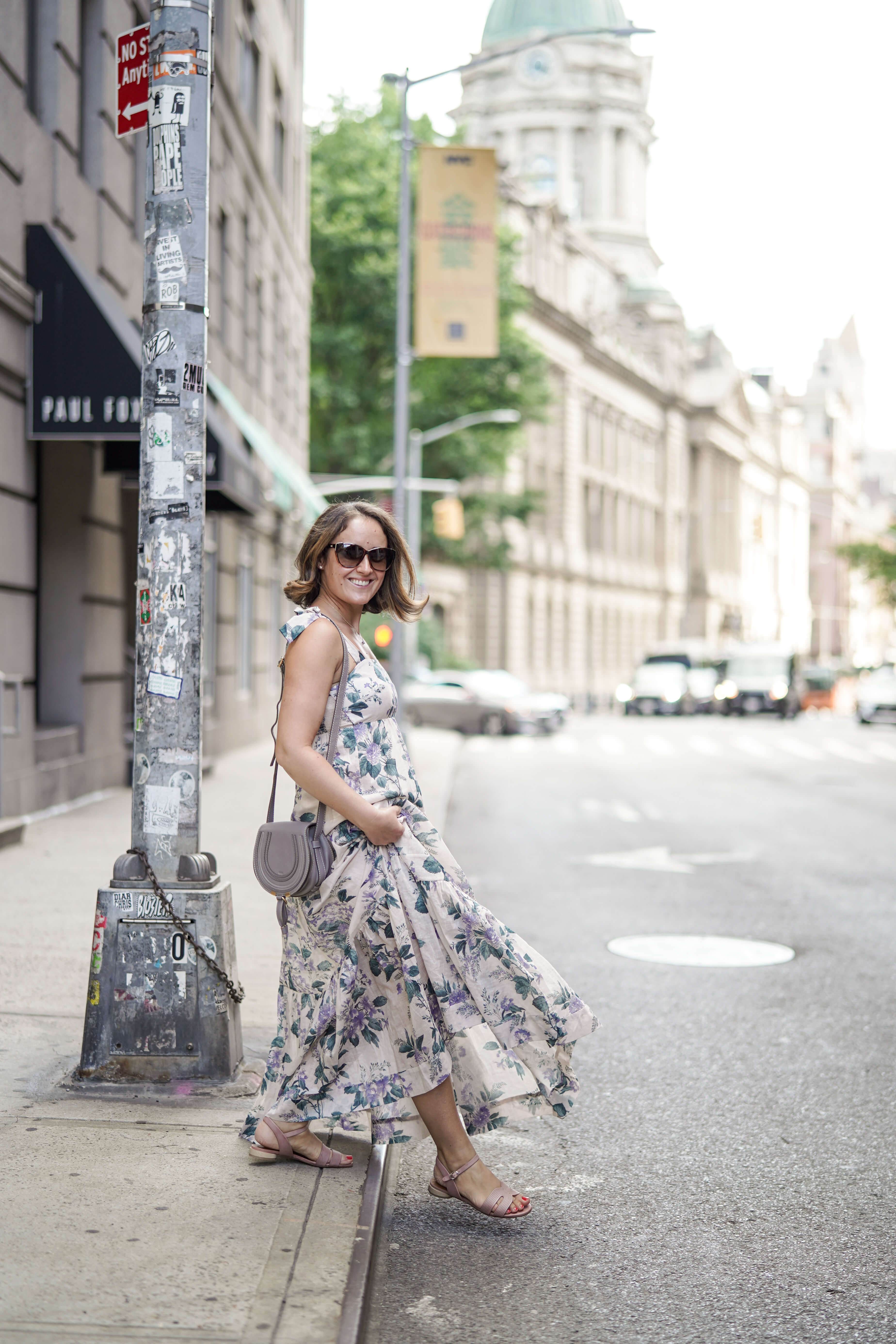Zimmermann Dress Chloe Bag Coclico Shoes Outfit by Modnitsa Styling