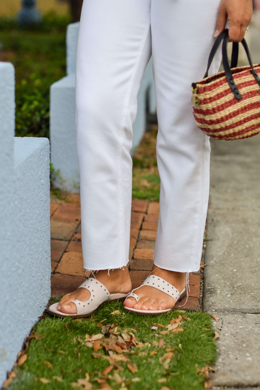 Rails Shirt Boyish Jeans Vionic Shoes Clare V Bag Outfit by Modnitsa Styling