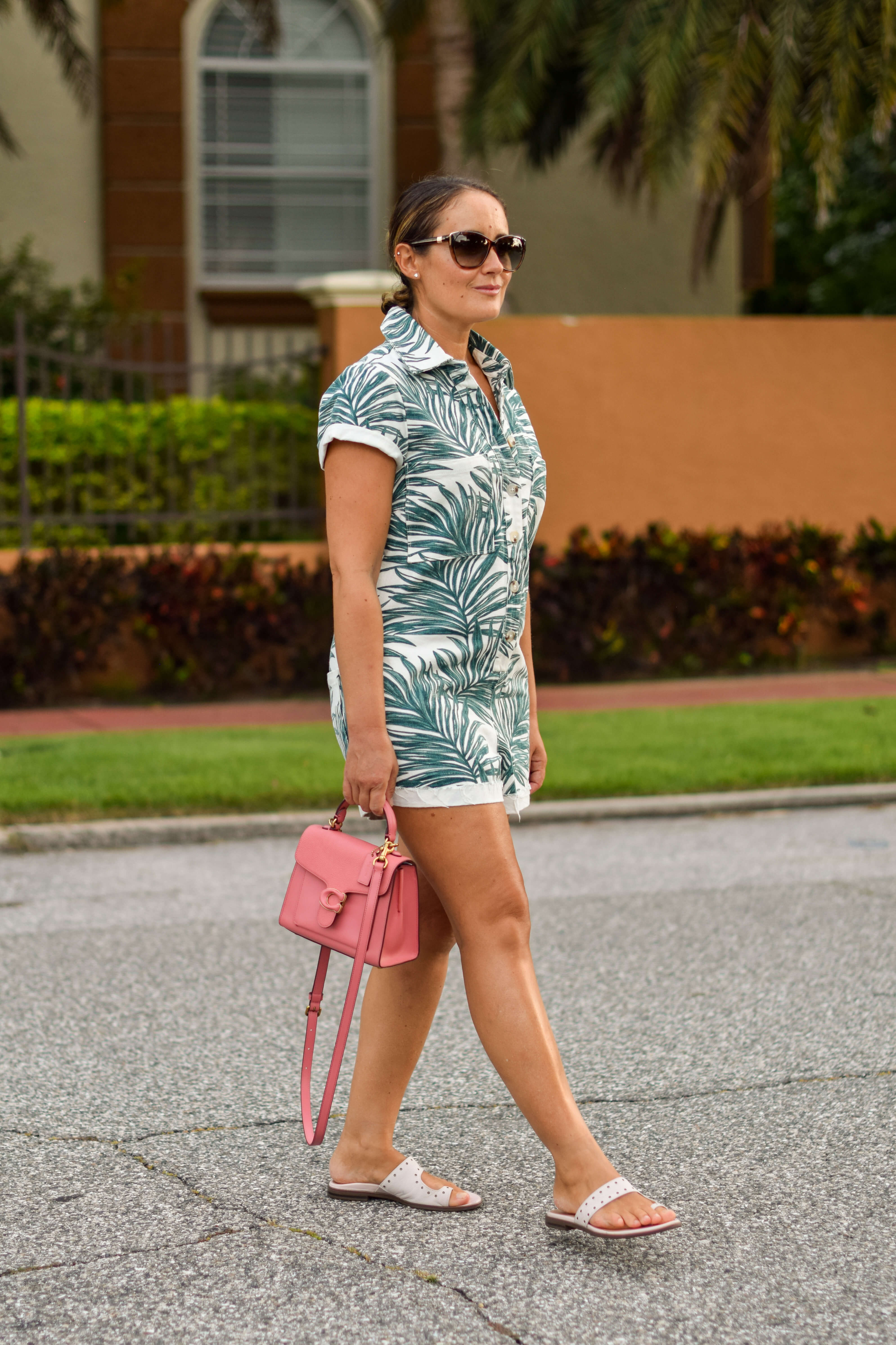 Show Me Your Mumu Jumpsuit Coach Bag Vionic Shoes Outfit by Modnitsa Styling