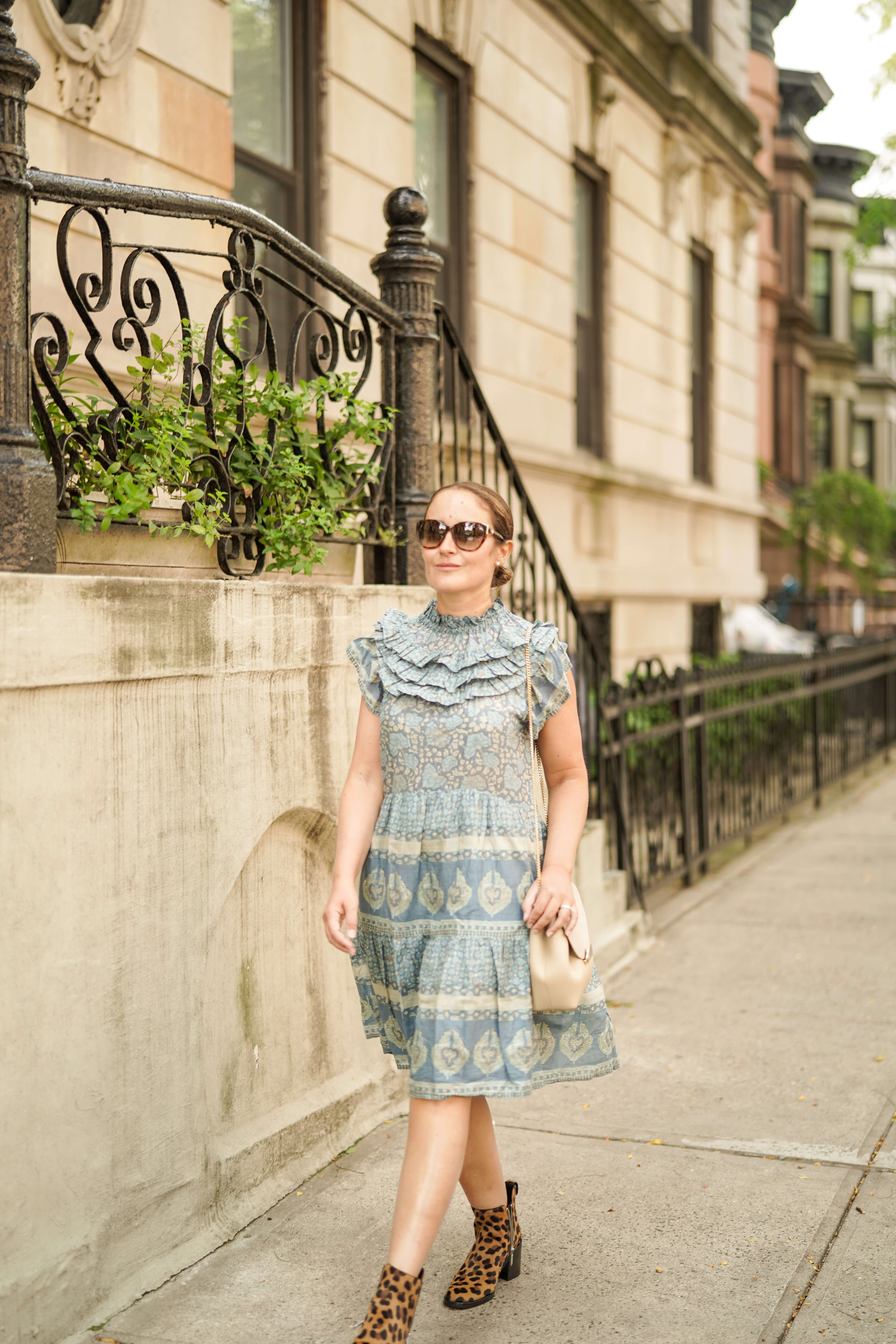Sea Dress Phillip Lim Booties Polene Bag Outfit by Modnitsa Styling