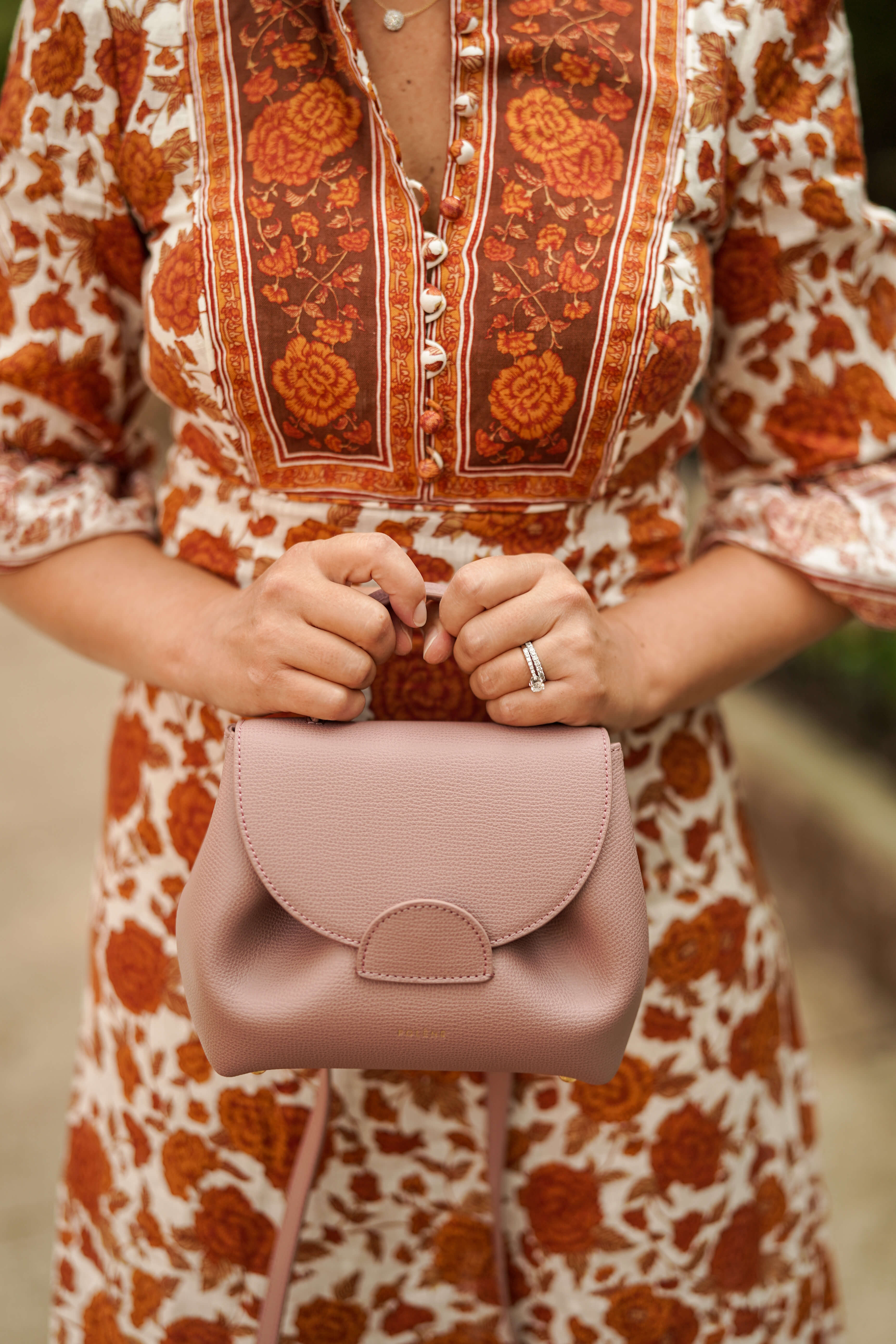 Zimmermann Dress Coclico Booties Polene Bag Outfit by Modnitsa Styling