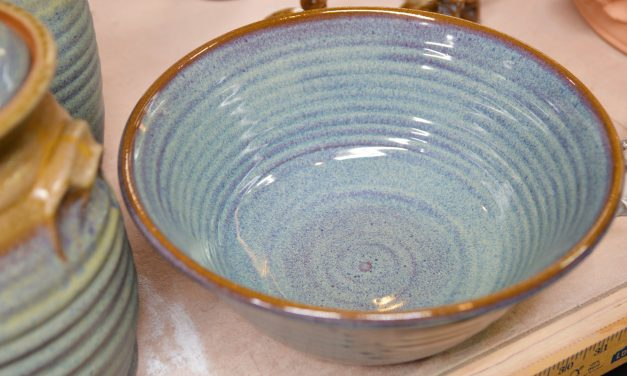 Art Local: Sugar Grove Pottery owner may run out of space, but never ideas
