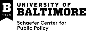 Logo University of Baltimore Schaefer Center for Public Policy