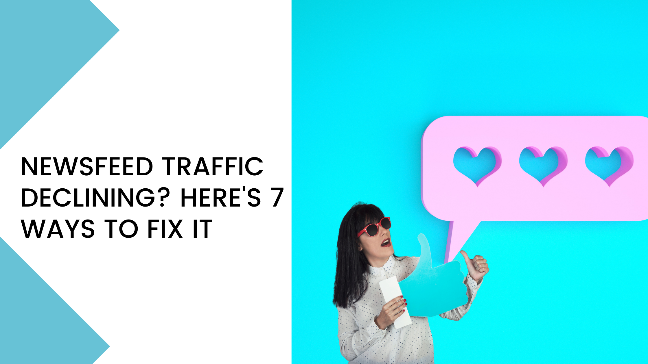 tricks to increase organic traffic on the Facebook Newsfeed