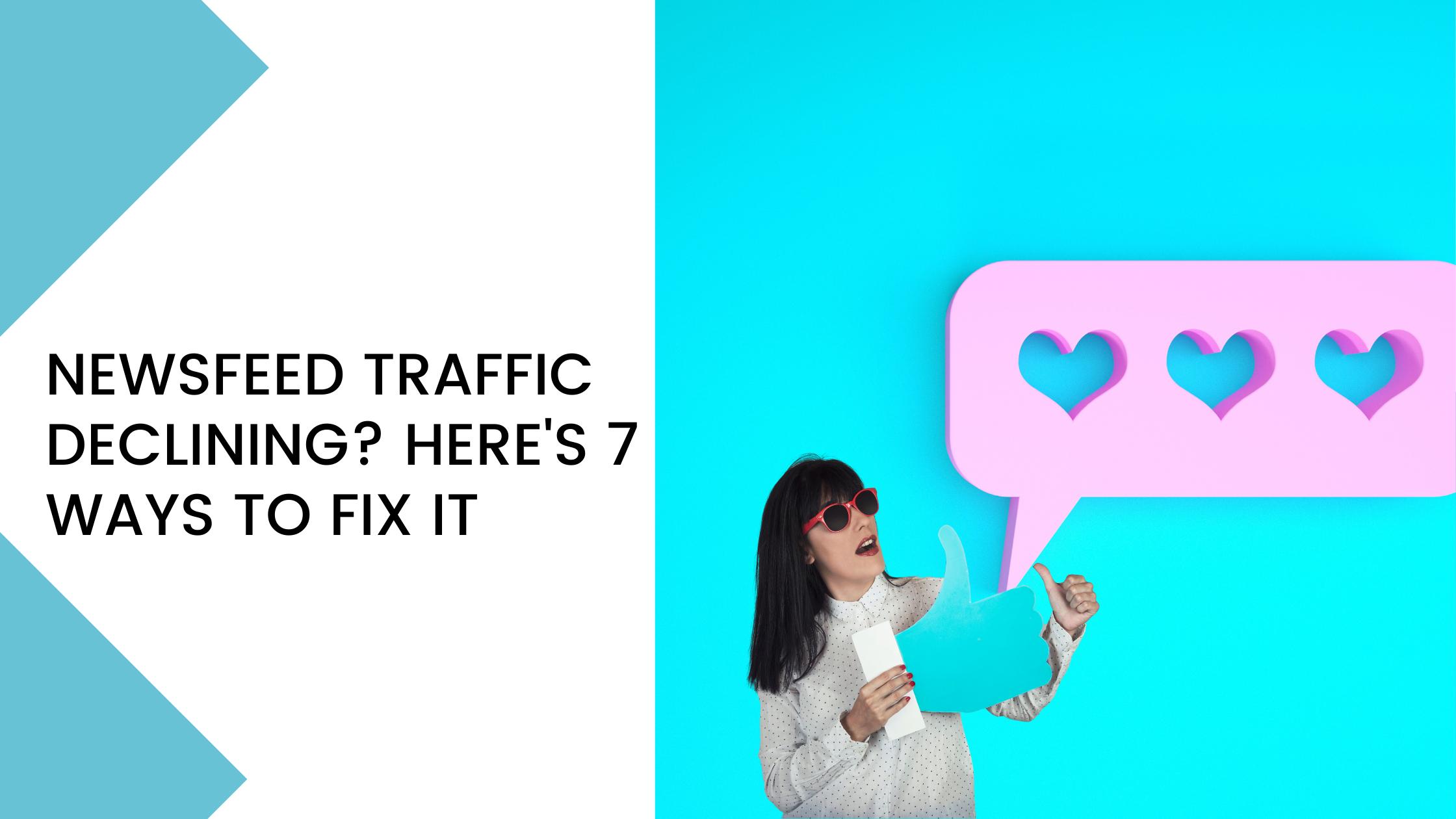 tricks to increase organic traffic on the Facebook Newsfeed