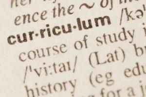 curriculum 4x6