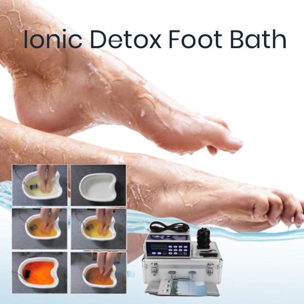 The Ionic Detox Foot Bath
