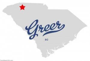 map_of_greer_sc