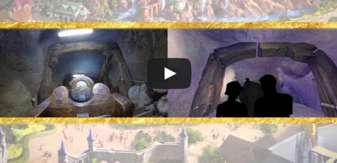 Seven Dwarfs Mine Train video