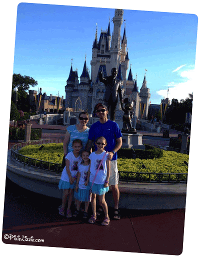 Melinda and Family - Disney World with food allergies