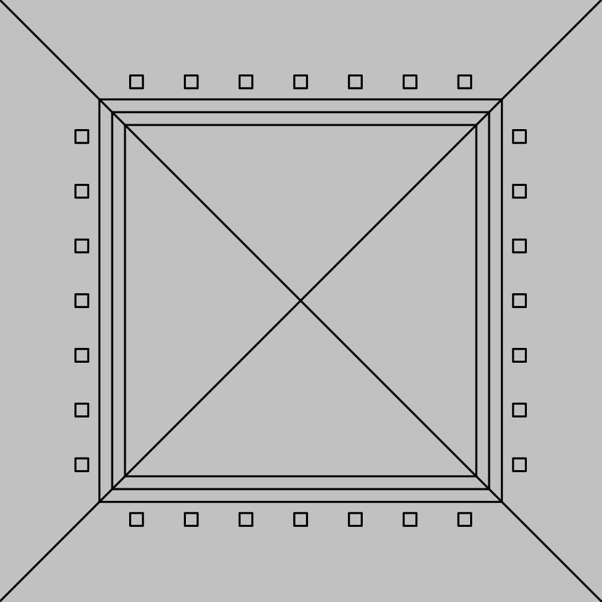 D-13 Mineral Fiber Ceiling Panel