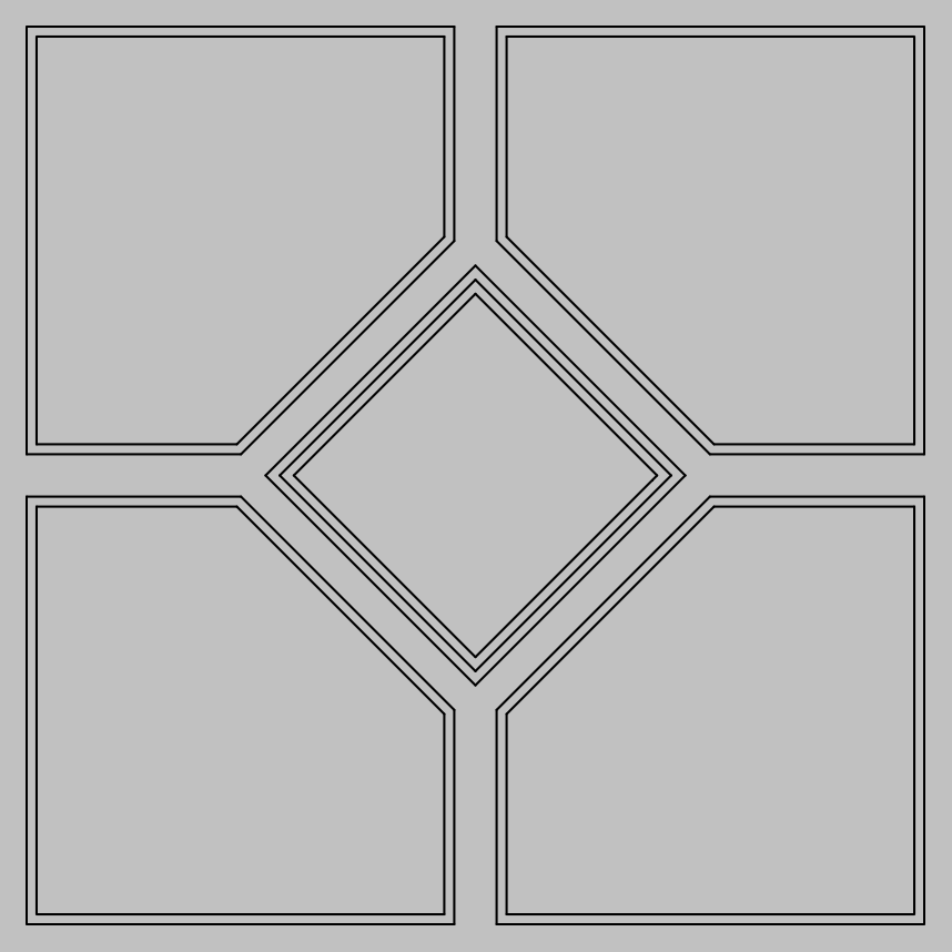 D-08 Mineral Fiber Ceiling Panel