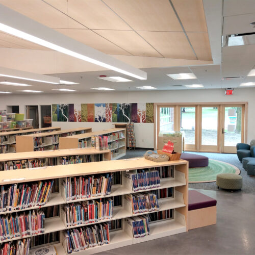 Library Somerset Woodscapes Maple