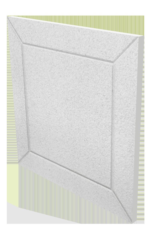 details D03 white Acoustical blocking tiles in custom colors