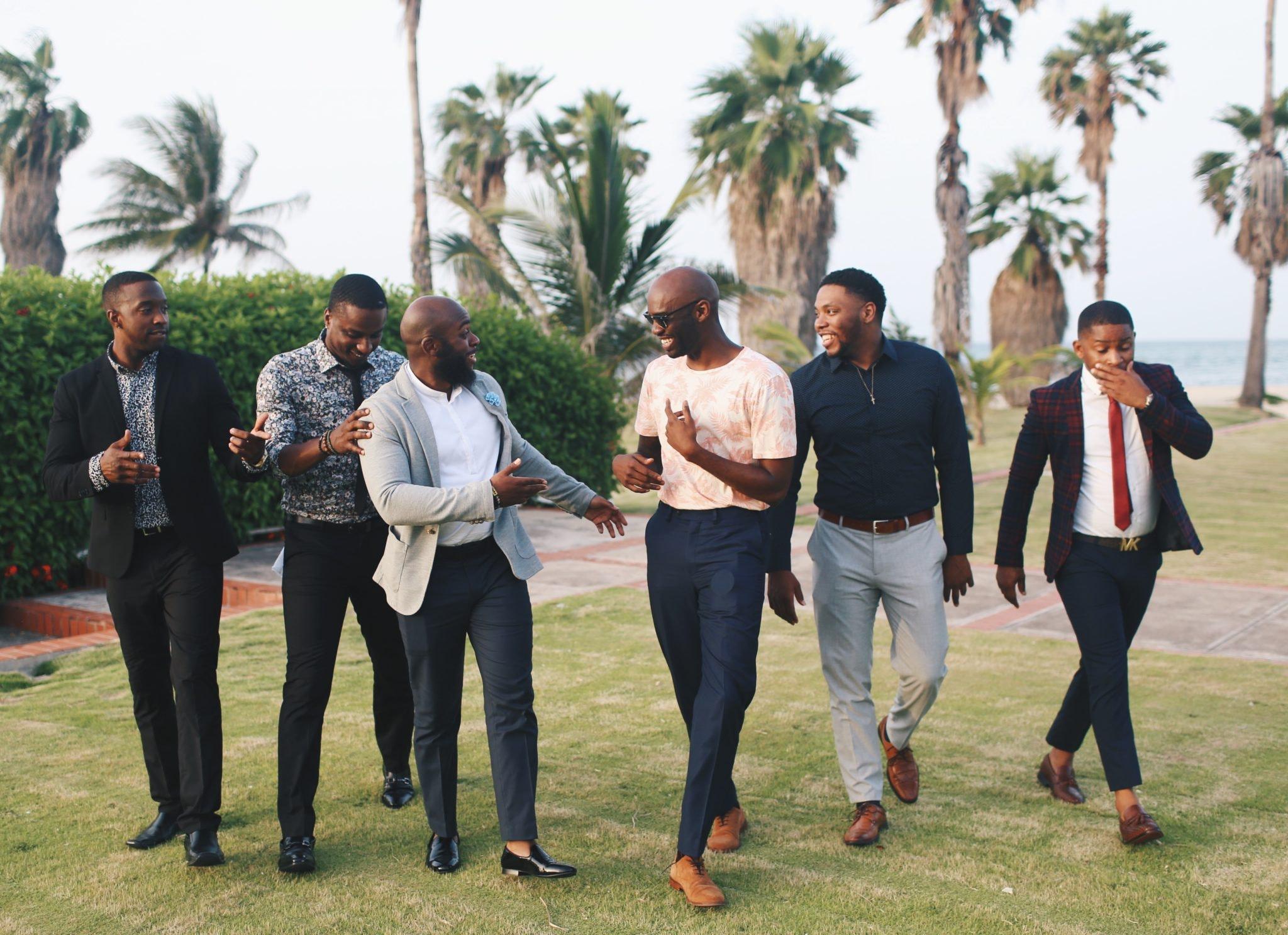 Men Laughing