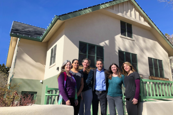 Naturopathic Doctors and healthcare team outside of the office building in Flagstaff, Arizona